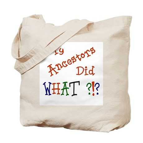 Did What? (red) Tote Bag