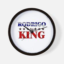 RODRIGO for king Wall Clock