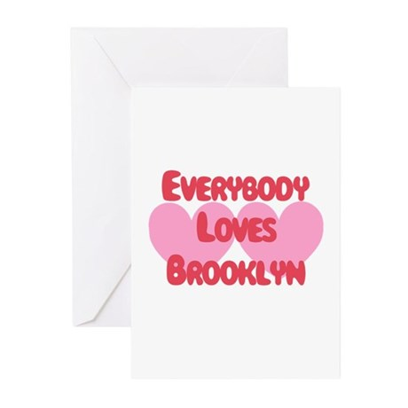 Everybody Loves Brooklyn Greeting Cards (Pk of 10)