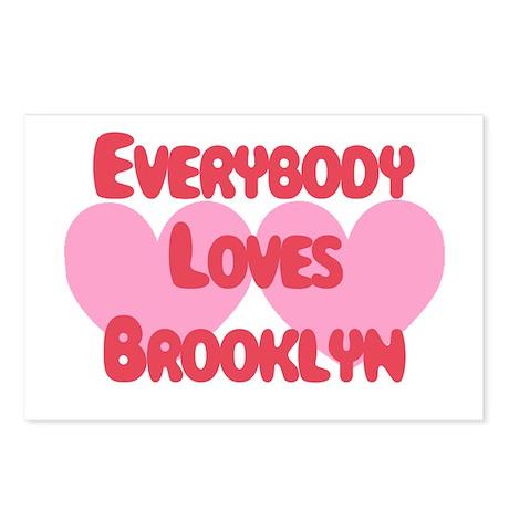Everybody Loves Brooklyn Postcards (Package of 8)
