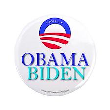 """""""Obama/Biden"""" 3.5"""" Button"""