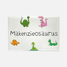 Marciaosaurus Rectangle Magnet