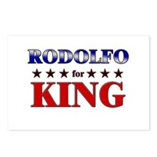 RODOLFO for king Postcards (Package of 8)