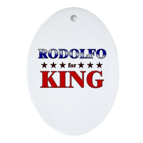 RODOLFO for king Oval Ornament