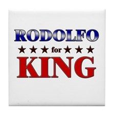 RODOLFO for king Tile Coaster