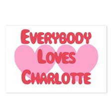 Everybody Loves Charlotte Postcards (Package of 8)