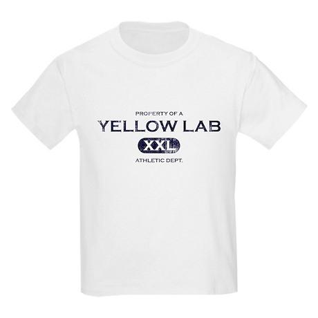 Property of Yellow Lab Kids Light T-Shirt