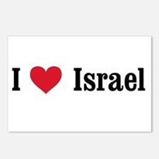 I Heart Israel Postcards (Package of 8)
