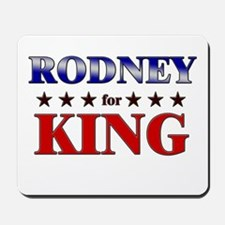 RODNEY for king Mousepad