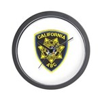 California A.B.C. Wall Clock