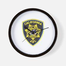 California A.B.C. Wall Clock