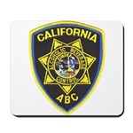 California A.B.C. Mousepad