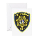 California A.B.C. Greeting Card