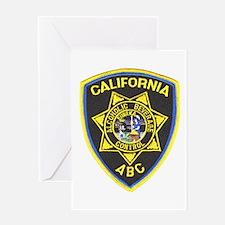 California A.B.C. Greeting Card