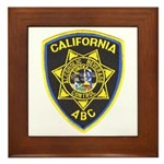 California A.B.C. Framed Tile