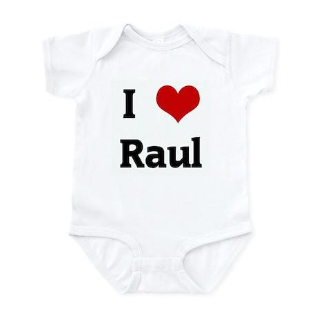 I Love Raul Infant Bodysuit