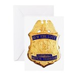 New York EMT Greeting Cards (Pk of 20)