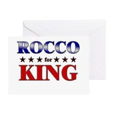ROCCO for king Greeting Card