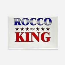 ROCCO for king Rectangle Magnet