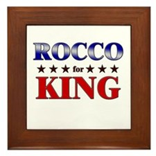 ROCCO for king Framed Tile