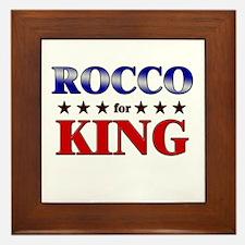 ROCCO for king Framed Tile