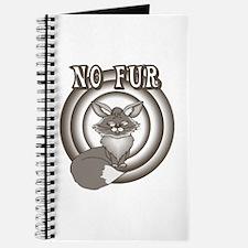 Retro No Fur Journal