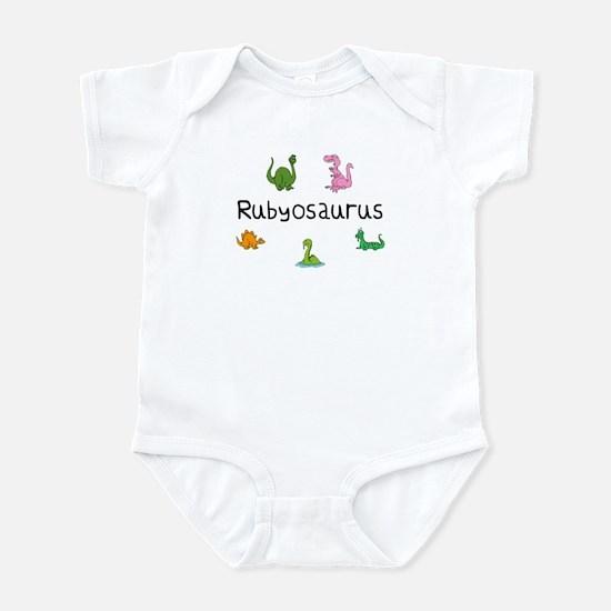 Rubyosaurus Infant Bodysuit