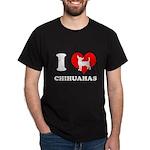 I love chihuahuas Dark T-Shirt
