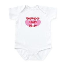 Everybody Loves Kelly Infant Bodysuit