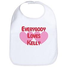 Everybody Loves Kelly Bib