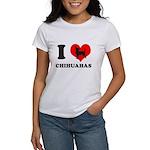 I love chihuahuas Women's T-Shirt