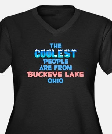 Coolest: Buckeye Lake, OH Women's Plus Size V-Neck