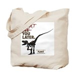 Prehistoric Planet Tote Bag