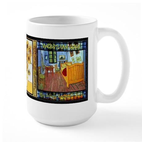 Vincent Van Gogh Art - Large Mug