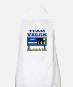 Team Vegan BBQ Apron