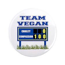 "Team Vegan 3.5"" Button"