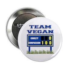 "Team Vegan 2.25"" Button"