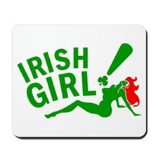 Irish Redhead! Mousepad