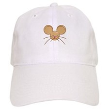 Mouse Head Brown Baseball Cap
