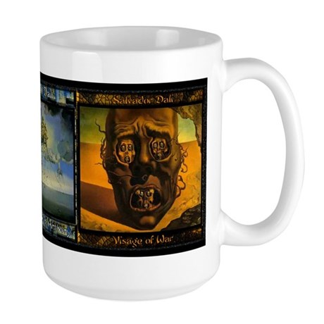 Salvador Dali Art - Large Mug