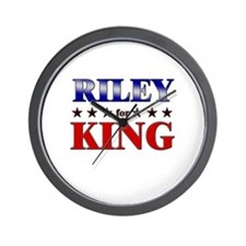 RILEY for king Wall Clock