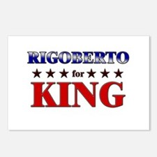 RIGOBERTO for king Postcards (Package of 8)