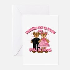 10th Anniversay Teddy Bears Greeting Cards (Pk of