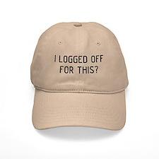I Logged Baseball Baseball Cap