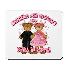15th Anniversay Bears Mousepad