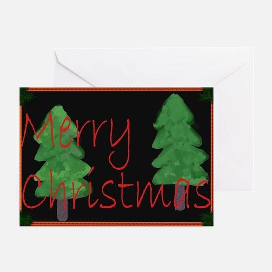 Fir Trees Christmas Cards (Pk Of 10)