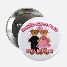 """25th Anniversay Bears 2.25"""" Button (10 pack)"""