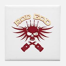Rod God Tile Coaster