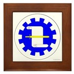 Caid Minister of the Lists Framed Tile