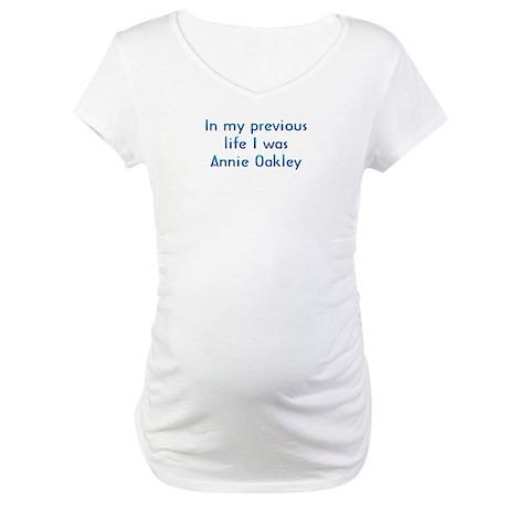 PL Annie Oakley Maternity T-Shirt